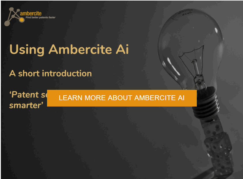 Try Ambercite patent search today! Online trial access now available, no payment required